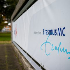 Logo Erasmus buiten